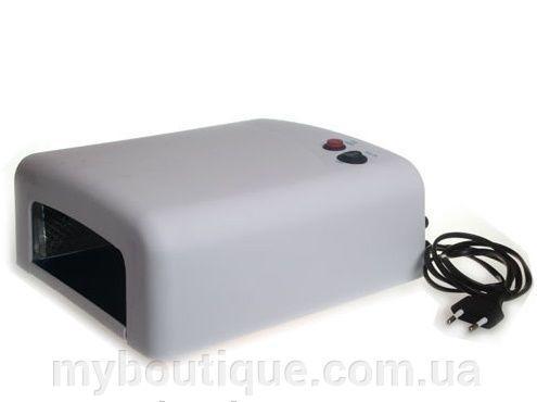 Ультрафиолетовая лампа для наращивания ногтей 818, белая (36 ватт)