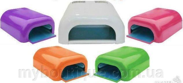 Ультрафиолетовая лампа для наращивания ногтей Lilu (цветная) 36 Вт