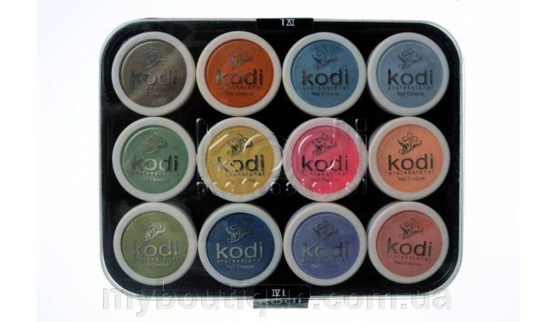 Kodi Professional набор цветных акрилов L4,12 шт