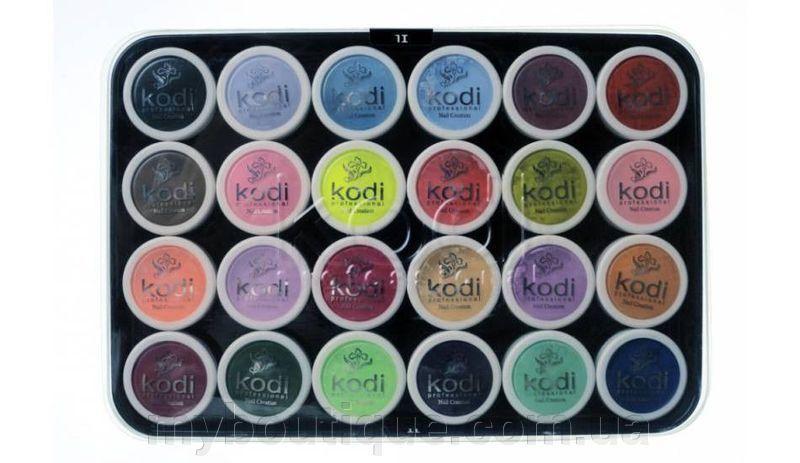 Kodi Professional набор цветных акрилов L1, 24 шт