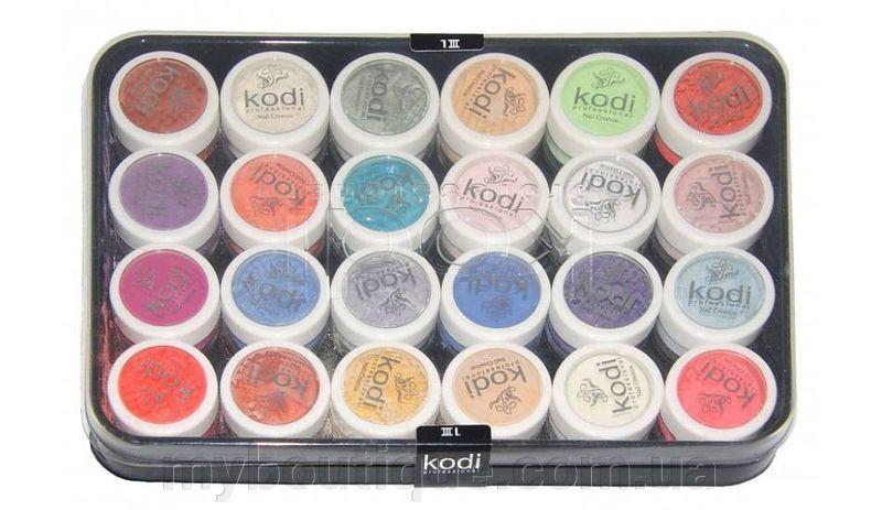 Kodi Professional набор цветных акрилов L3,24 шт