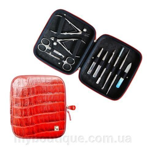 Фото Инструменты для маникюра, педикюра, Маникюрные наборыСталекс НМ-08 Набор маникюрный