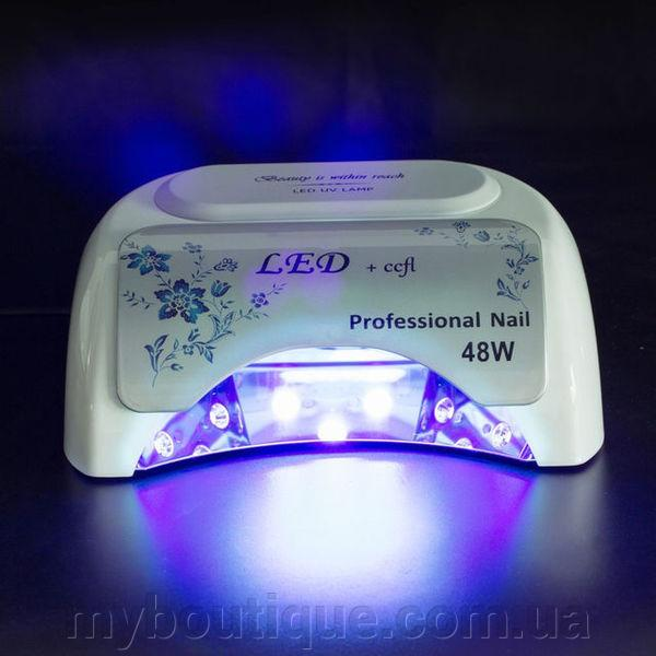 Фото  УФ LED-лампа Powerful 48W