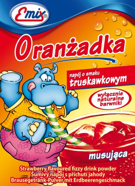 "Напиток ""Oranzadka"" клубника,16 г"