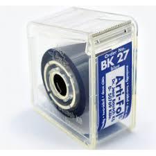 ВК27 Артикуляционная фольга, двухсторонняя, синяя  (Bausch)