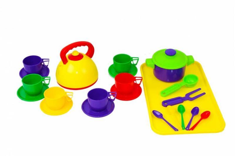 Посуда 23 прибора с подносом ЮНИКА