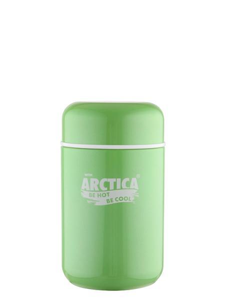 """Термос с широким горлом для еды """"Арктика"""", зеленый, 400 мл"""