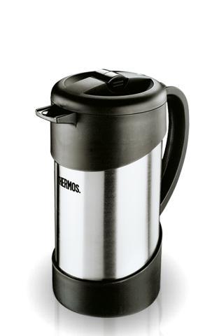 Термос-кофеварка NCI 1000 Caffee Plunger (1 литр) с прессом, 1 л.