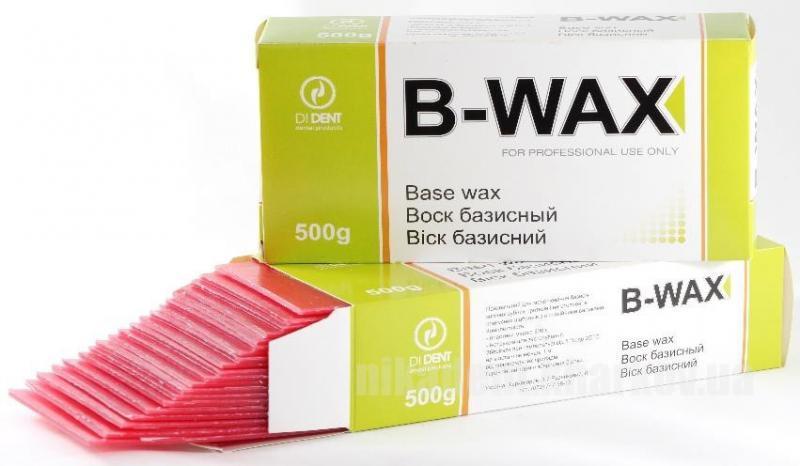 Фото Для зуботехнических лабораторий, МАТЕРИАЛЫ, Воска B-WAX (Base Wax) Воск Базисный