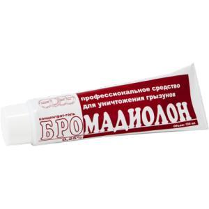 Бромадиолон - гель против грызунов 150 мл - 1 шт.