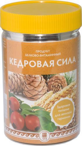 """Продукт белково-витаминный """"Кедровая сила"""""""