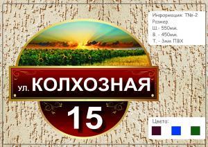 Фото АНШЛАГИ НА ДОМА Табличка название улицы  №2