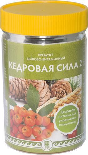 """Продукт белково-витаминный """"Кедровая сила-2"""""""
