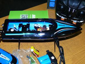 Фото Катера, лодки. Катер H100 радиоуправляемый, длина 36 см