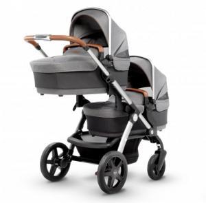 Фото Коляски, Коляски для двойни и тройни Детская коляска 2 в 1 Silver Cross Wave Sable