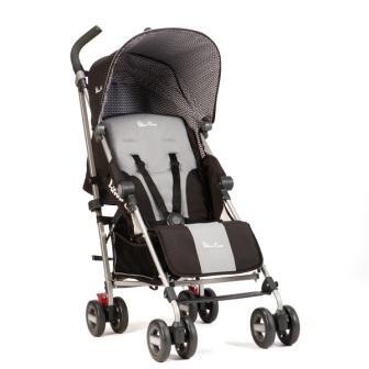 Детская прогулочная коляска-трость Silver Cross Zest Black
