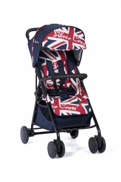 Детская прогулочная коляска-трость Silver Cross Avia Cool Britannia/Black