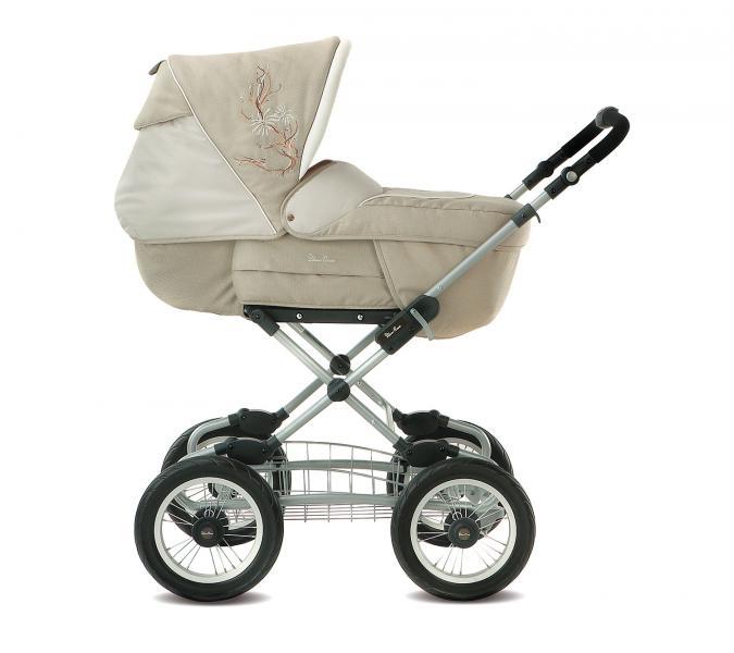 Детская коляска трансформер Silver Cross Sleepover Sport Vintage на раме Classic