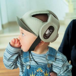 Фото Купание и гигиена Детский защитный шлем No Shock Бежевый