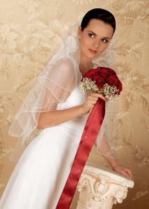 Фото Свадебная фата V0293 Фата