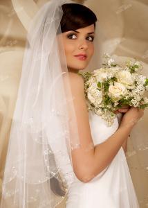 Фото Свадебная фата V0481 Фата