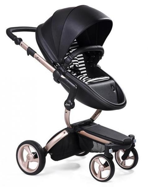 Детская коляска Mima Xari 2G Flair на шасси Rose Gol 2 в 1