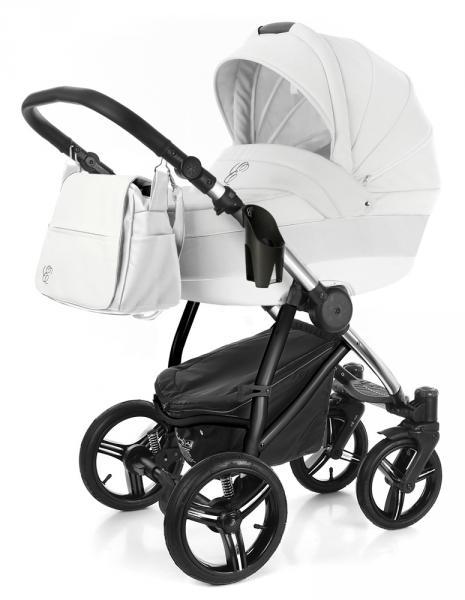 Детская коляска Esspero Grand Newborn Lux (шасси Chrome) 2 в 1