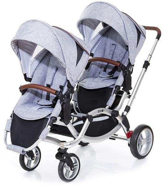 Детская коляска для двойни FD-Design Zoom 2 в 1