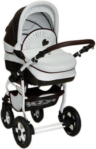 Детская коляска DPG Romance Dots 3 в 1