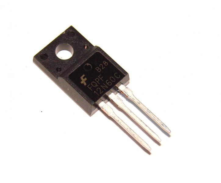 Транзистор FQPF12N60C 12N60 12А 600В