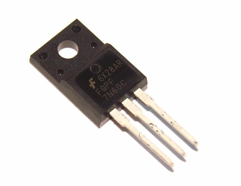 Транзистор FQPF7N60C 7N60 7А 600В