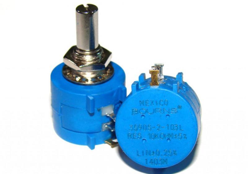 Резистор многооборотный 10 кОм