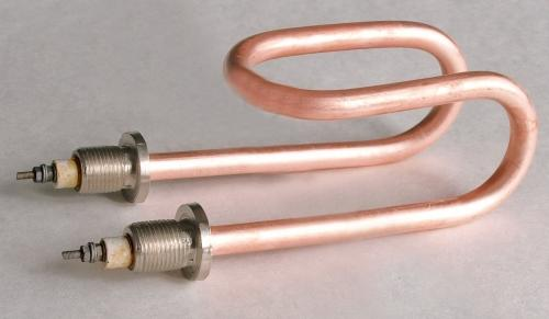 ТЭН дистиллятора АДЭа-25 / 2 кВт, 220В - нерж и медь