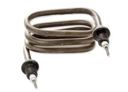 Фото Запчасти для медицинского оборудования ТЭН 85.06.000 (1.5кВт, 220В) нерж сталь для дистиллятора ДЭ-4