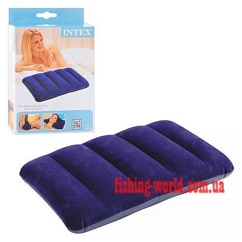 Фото Матрасы, надувные кровати Подушка Intex 68672 велюр