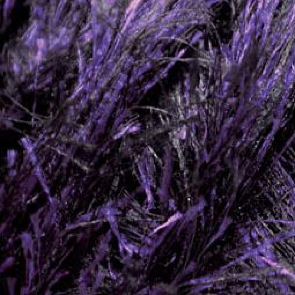 ALIZE Decofur 1380 Черный-фиолетовый