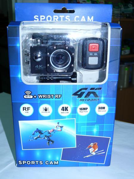 Экшен камера V60B RF 4K, WiFi., пультом Д/У.
