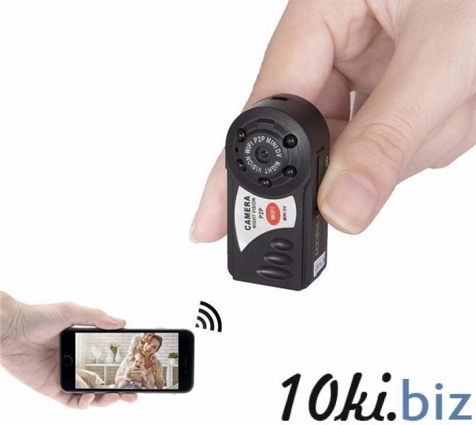 Wi-Fi Мини видеокамера ночного видения Q7 купить в Астане - Видеокамеры, экшн-камеры с ценами и фото
