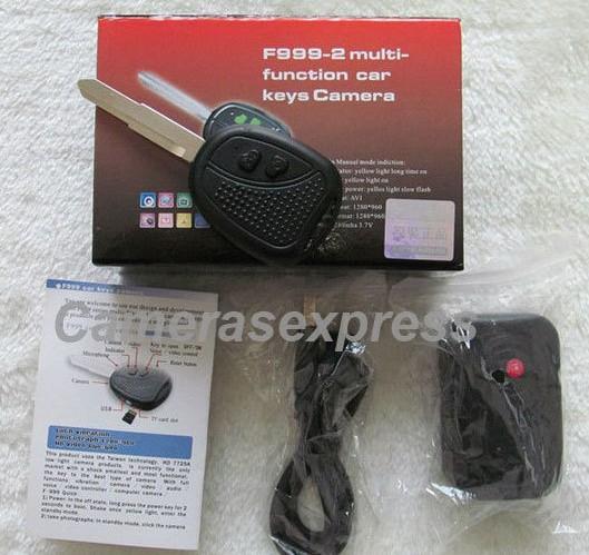 Ключ Toyota со встроенной видеокамерой и детектором движения