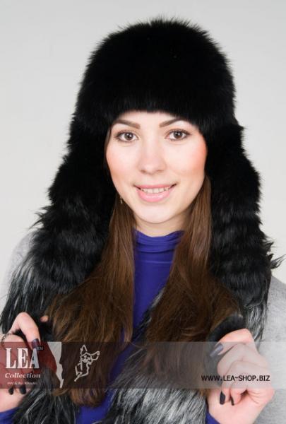 Меховая женская шапка (натуральный кролик первый сорт)