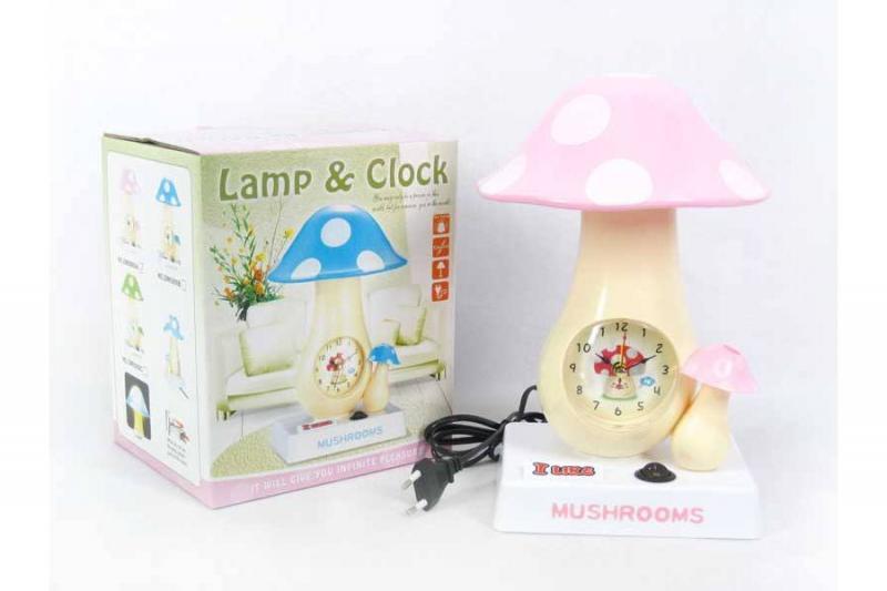 Часы - светильник