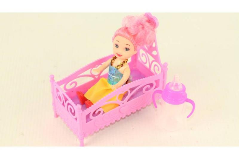 Куколка в кроватке в пакете