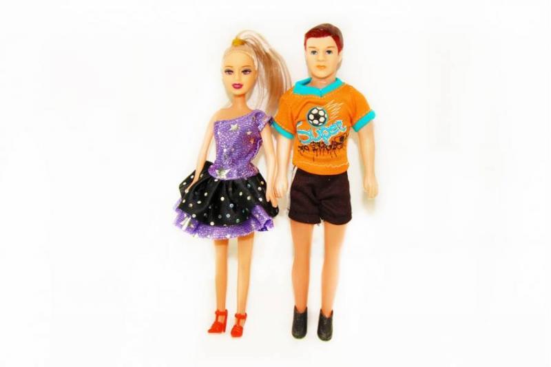 """Кукла """"Семья"""" в пакете"""