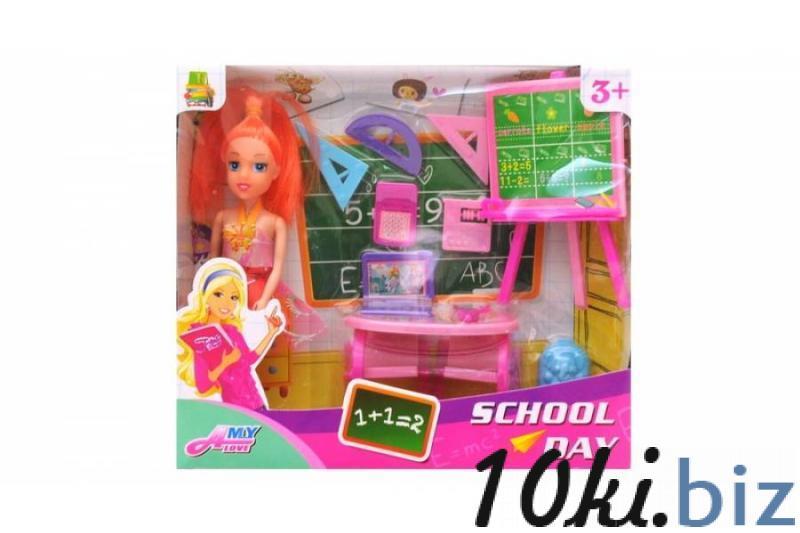 Кукла - учитель в коробке