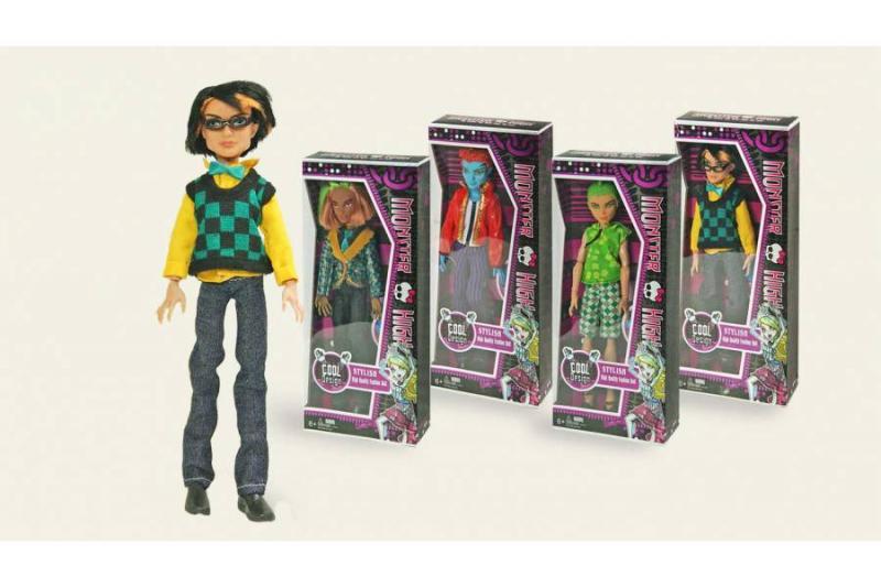 """Кукла """"MONSTER HIGH"""" - парень в коробке"""