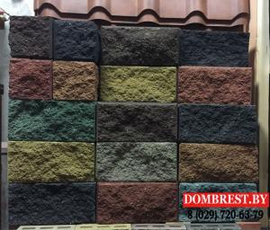 Фото  Блок цементно-песчаный декоративный, демлер в Бресте