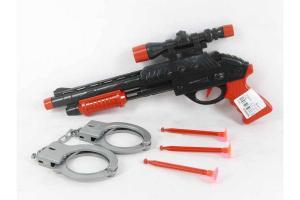 Фото Игрушки для мальчиков, Детское оружие Пистолет присоски в пакете