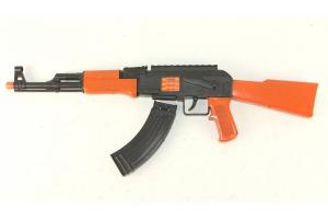 Фото Игрушки для мальчиков, Детское оружие Автомат трещётка в пакете