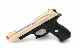 Фото Игрушки для мальчиков, Детское оружие Пистолет музыкальный в пакете