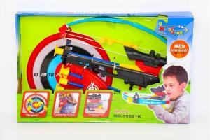 Фото Игрушки для мальчиков, Детское оружие Арбалет в коробке